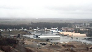 El aeródromo Manas