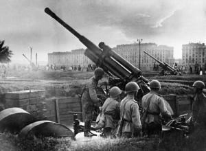 Russian Anti Aircraft Gun