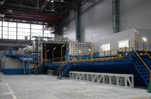 La instalación de recocido de vacío modernizada en la planta aeronáutica de Kazán