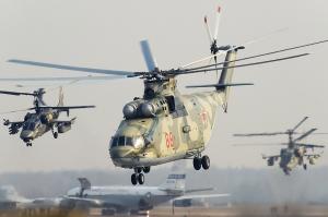 Helicópteros rusos