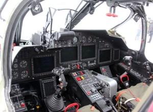 Ka-52K cockpit
