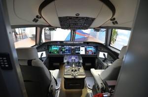 Cockpit del MS-21