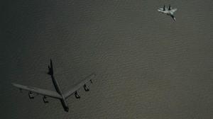 B-52 interceptado