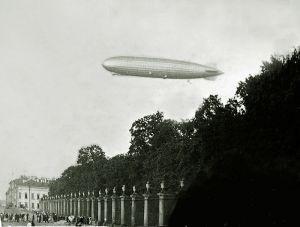 Cuando los dirigibles dominaban los cielos