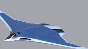 Imagen conceptual del bombardero PAK-DA