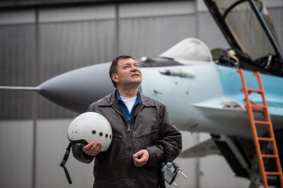 Mijaíl Beliáves, piloto de pruebas
