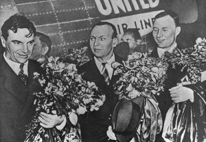 Los tres héroes soviéticos
