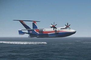 "Ekranoplano A-050-742d ""Chaika"""