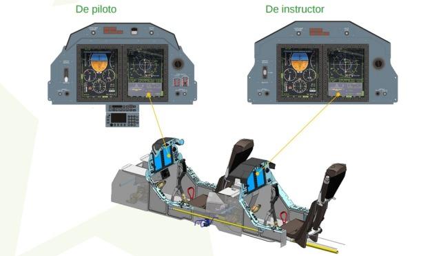 Diseño de cabina del Yak-152