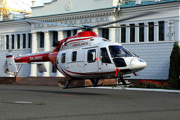 Helicóptero medicalizado ANSAT