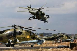 Mi-24P en Siria