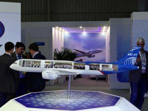 Modelo del MS-21, sin duda un gran avión
