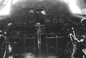 Panel del piloto del ANT-25