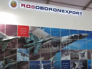 Rosoboronexport, responsable exclusiva de todas las exportaciones de armas